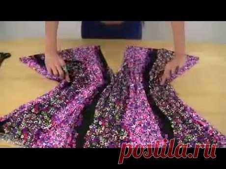 Как сшить платье балахон быстро