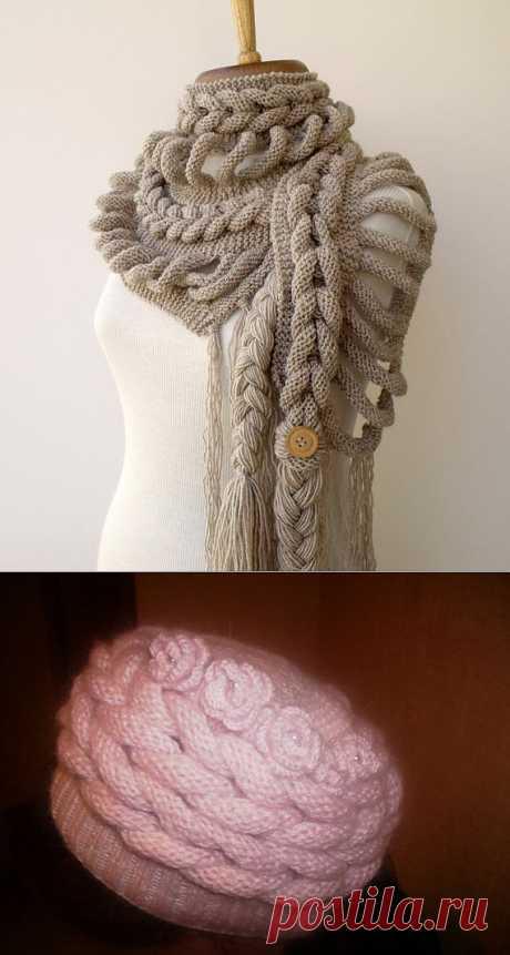 Создавайте свои шедевры! О творческом подходе к вязанию.