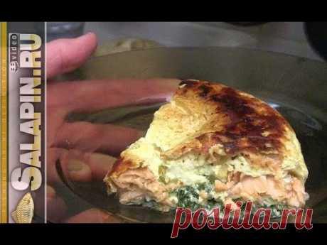 Рецепт из рыбы: форель в суфле [salapinru]