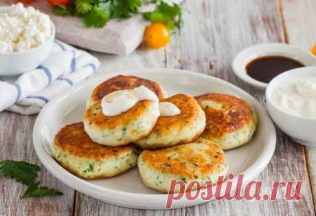 Сырники с брынзой и зеленью - пошаговый рецепт с фото на Повар.ру