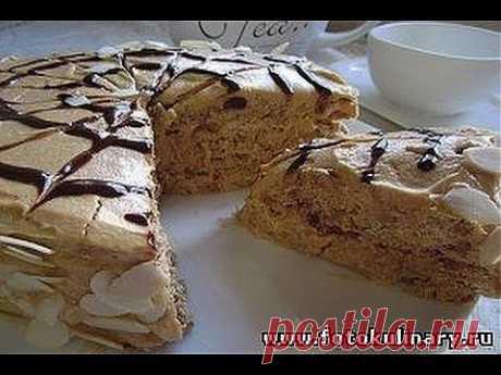 Рецепт -   Торт с безе и орехами (по мотивам Эстерхази ) - YouTube