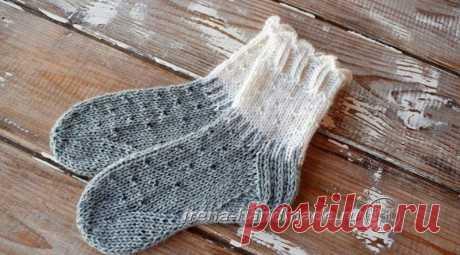 Детские носки спицами с анатомической стопой, Вязание для детей
