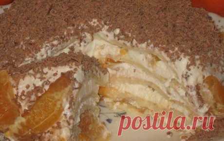 Торт со вкусом мороженого - Простые рецепты Овкусе.ру