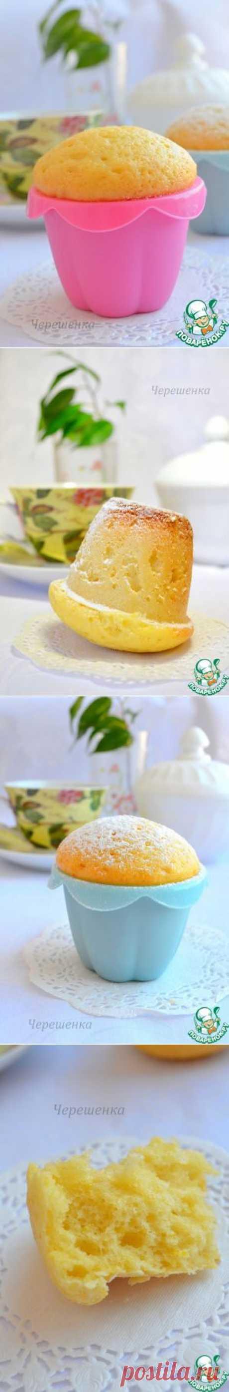Лимонные маффины в мультиварке - кулинарный рецепт