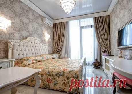 Классический стиль для спальни — Роскошь и уют