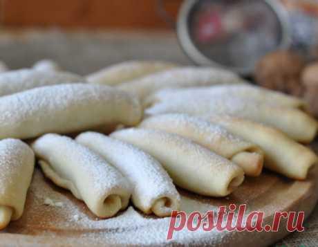 Мегахрустящее лакомство! Татарские рогалики бармак — Вкусные рецепты