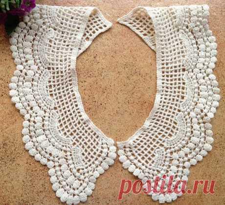 Venice Lace Collar/ Beige collar/ Baby collar/ Lace collar/ DIY/ Floral collar