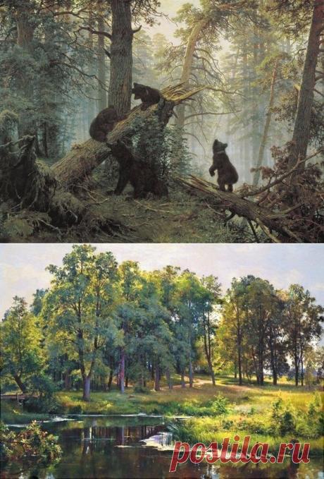 La belleza de la naturaleza rusa en los trabajos de Iván Ivánovich Shishkina (1832—1898) - Viajamos juntos