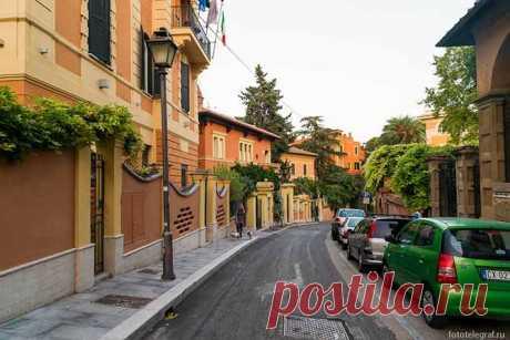 Познавательная прогулка по улицам Рима