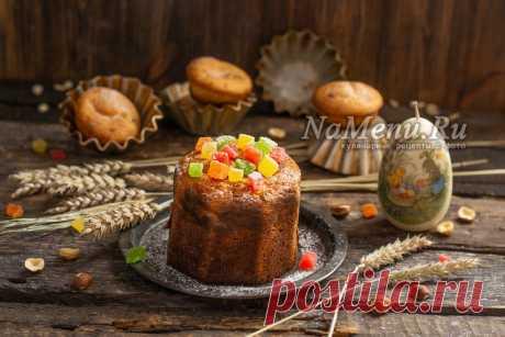 Диетический кулич на Пасху, рецепт с фото пошагово