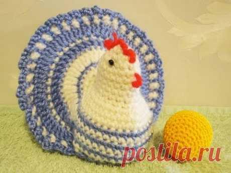 La gallinita de Pascua por el gancho
