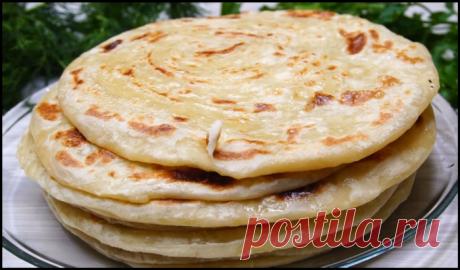 Катлама - вкусные и диетичные лепешки из простых продуктов!