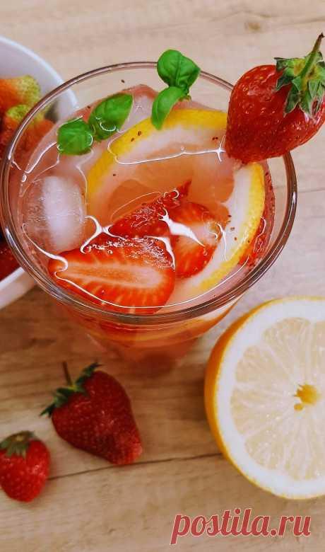 Клубничный лимонад - InVkus