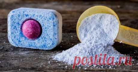 10 удивительных способов применения таблеток для посудомоечной машины - Квартира, дом, дача - медиаплатформа МирТесен