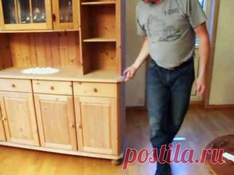 Как легко в одиночку передвинуть тяжелую мебель | Краше Всех