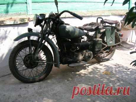 Indian 741 1941 год