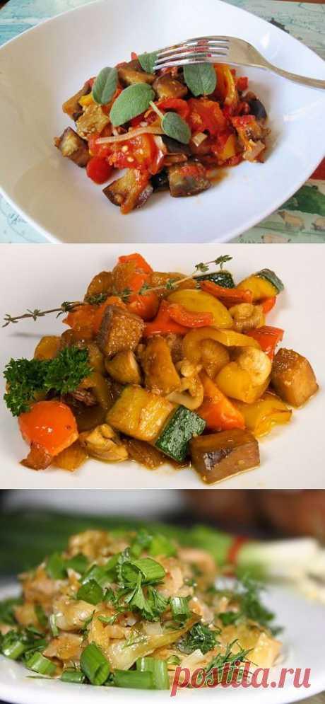 Август – самое время для овощного соте! / Простые рецепты