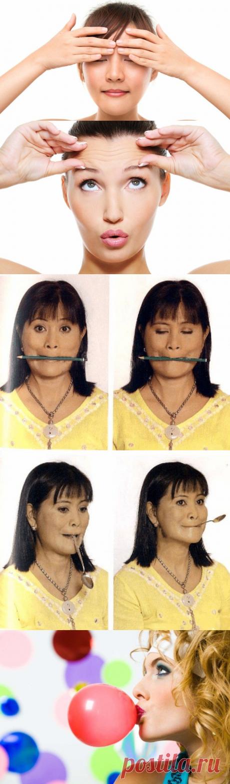 Чтобы разгладить морщины и сделать четким контур лица, нужно делать сначала массаж, а затем… | Женское здоровье