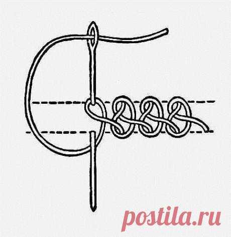 Ручные декоративные швы / Любимая Азия