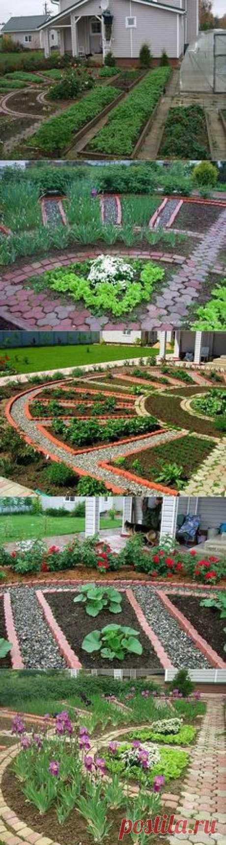 Мой любимый Домик в деревне - декоративный огород. | ✿✿✿ Семь Соток | Постила