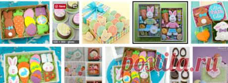Easter Cookie Box - Google Търсене