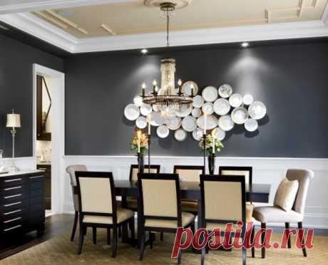 55 идей тарелок на стену: секреты необычного декора