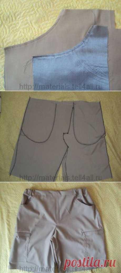 Мастер-класс: шьем мужские шорты | Шкатулка