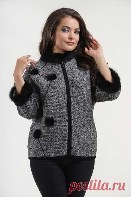 Каталог женской одежды в Москве, красивая женская одежда с бесплатной доставкой цвет - Черно-белый