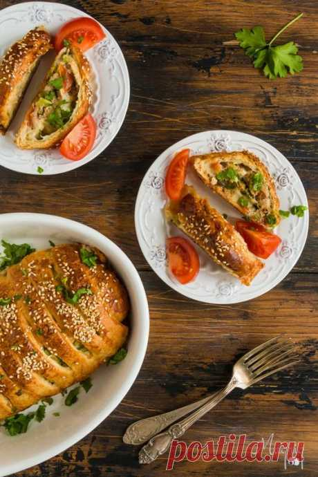 Мясной рулет - просто, красиво и вкусно! — Живой Журнал