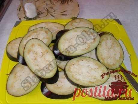 Баклажаны жареные в шубке. Рецепт. Фото