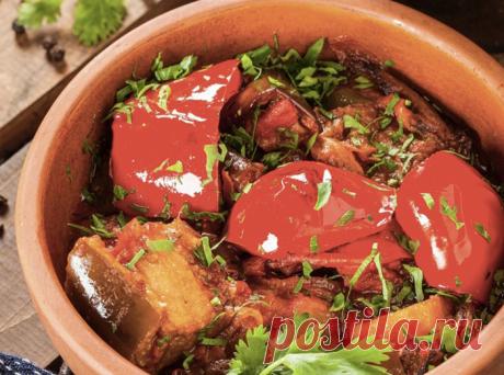 Овощное рагу с Кавказа: едим и с мясом, и просто с хлебом