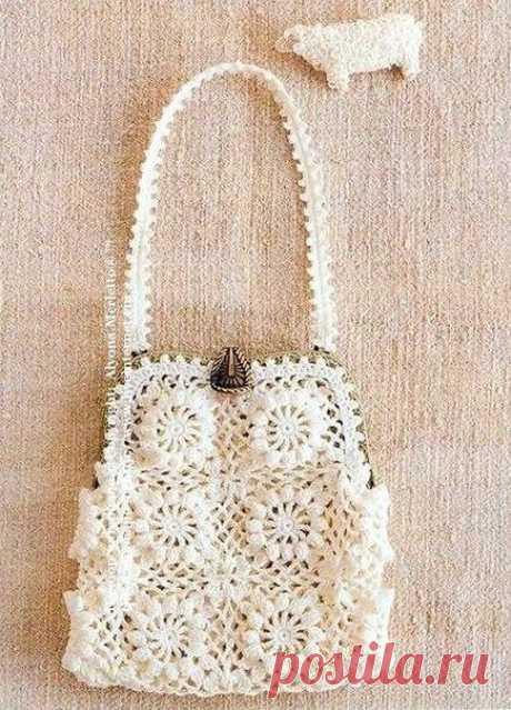 Вязанная сумка своими руками. Вяжем сумки крючком схемы | Лаборатория домашнего хозяйства