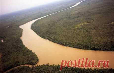 Крупнейшие реки Африки: кто открыл Замбези на карте