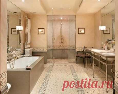 Плитка мозаика для ванной, преимущества и недостатки материала