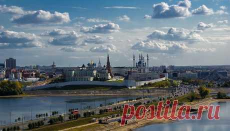 Города России: Казань с высоты птичьего полета | Все о туризме и отдыхе