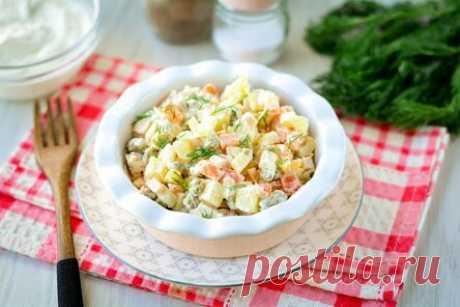 Салат «Киевский» — вкусный и оригинальный рецепт для праздника и еще 10 разных салатов.