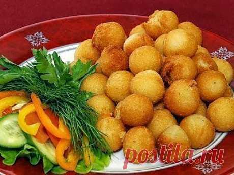 Cook it - вкусные рецепты  Вкуснее только у мамы!: Картофельные шарики для гарниров