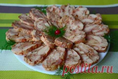Лучшая мясная закуска за считанные минуты без желатина | Cookpad - рецепты на новый год | Яндекс Дзен