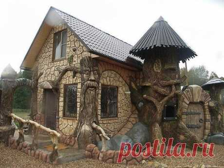 Дом-красавец из сказки