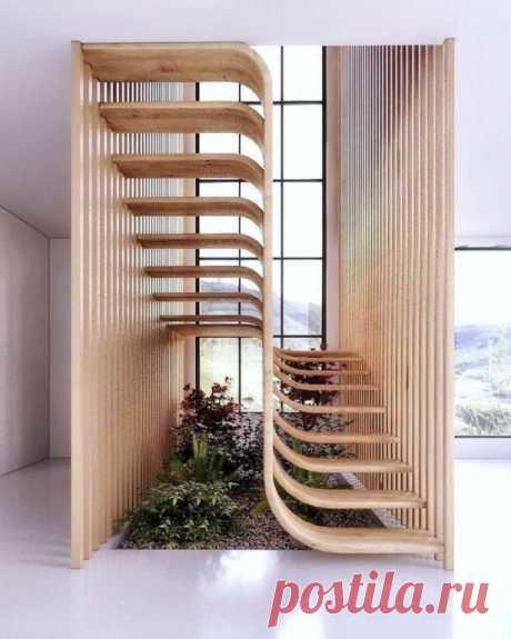 Лестница. Нет ничего лучше, чем красивый и инновационный дизайн лестницы