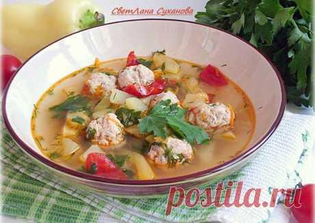 (2) Кабачковый суп с фрикадельками - пошаговый рецепт с фото. Автор рецепта Лана . - Cookpad
