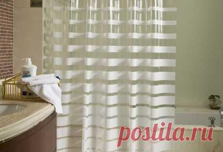 Обычная соль поможет избавиться от плесени на шторке в ванной | Рекомендательная система Пульс Mail.ru