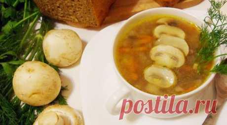 Вкусно и ароматно! Томленый грибной суп — Фактор Вкуса