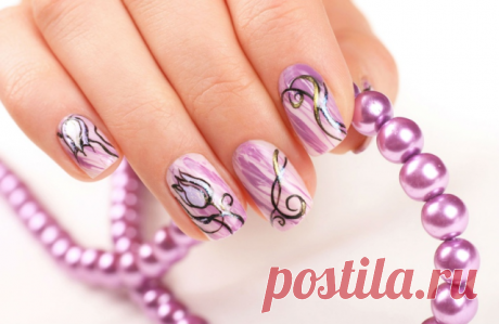 Fast manicure without scissors