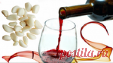 Чесночная настойка на красном вине