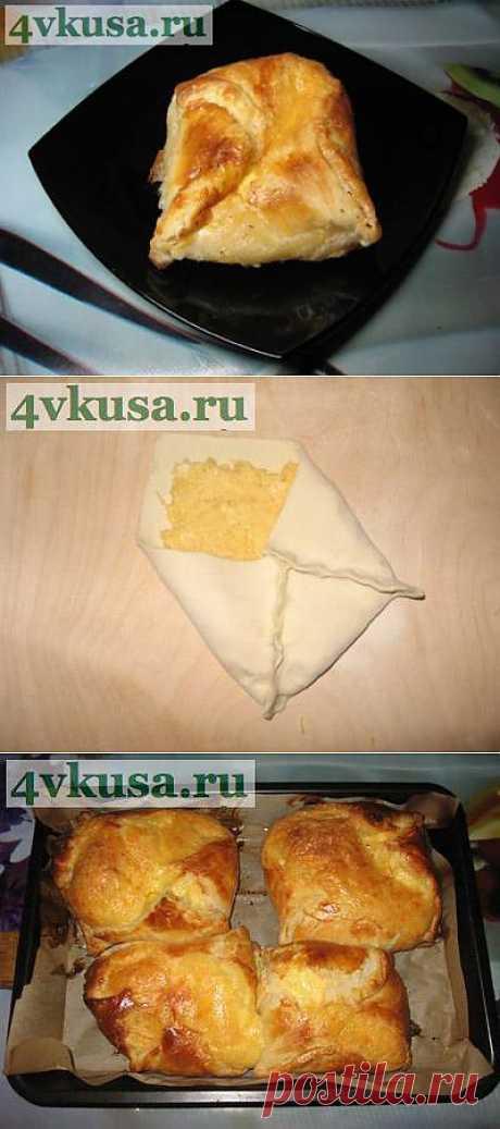 Хачапури с сыром как в магазине, только вкуснее. Фоторецепт. | 4vkusa.ru