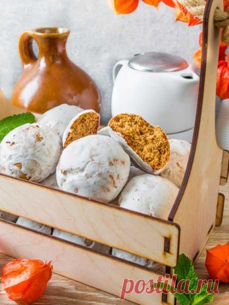 Рецепт мягких пряников в глазури на Вкусном Блоге
