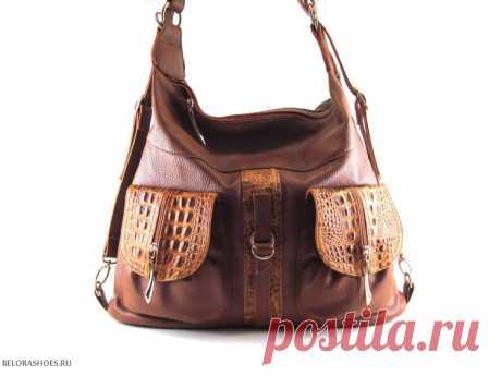 Сумка-рюкзак женская Оригинальная практичная сумка рюкзак с двумя независимыми отделениями