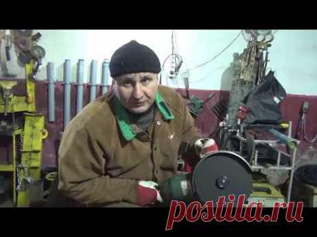 Как правильно резать болгаркой, на себя или от себя?