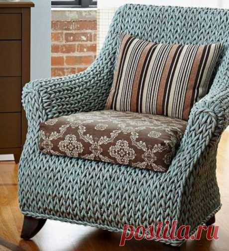 Как можно обновить старое кресло? — Полезные советы